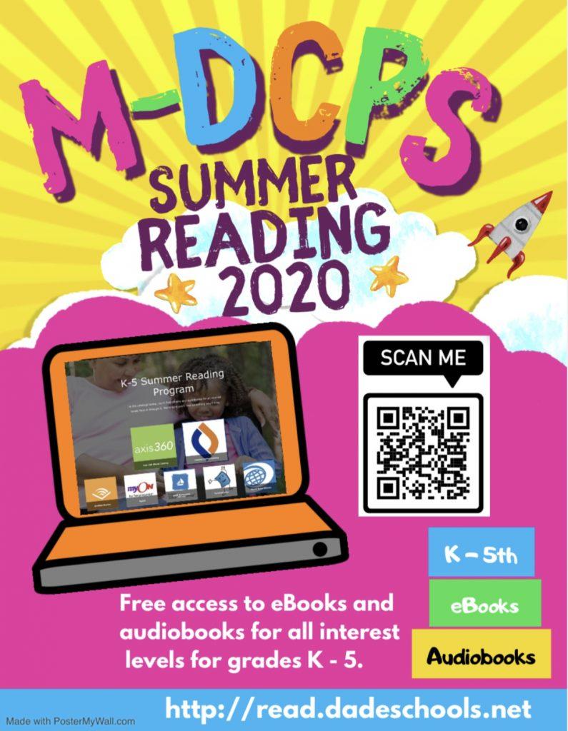 summer reading poster